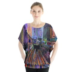 Downtown Chicago Blouse