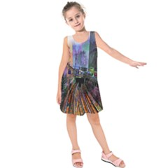 Downtown Chicago Kids  Sleeveless Dress