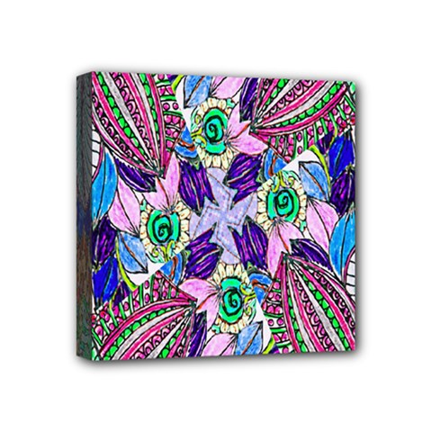 Wallpaper Created From Coloring Book Mini Canvas 4  X 4