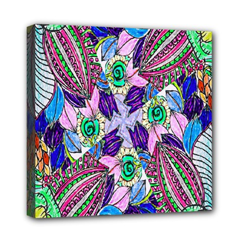 Wallpaper Created From Coloring Book Mini Canvas 8  X 8