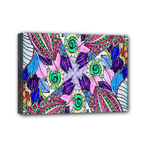 Wallpaper Created From Coloring Book Mini Canvas 7  x 5