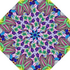 Wallpaper Created From Coloring Book Folding Umbrellas