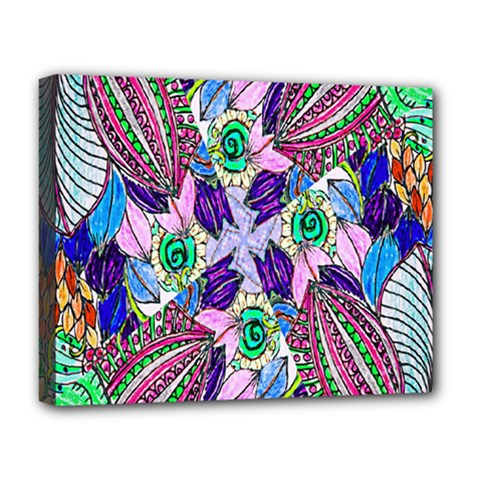 Wallpaper Created From Coloring Book Deluxe Canvas 20  X 16
