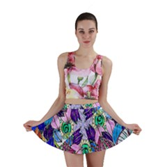 Wallpaper Created From Coloring Book Mini Skirt