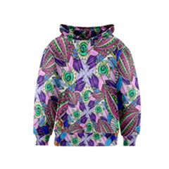 Wallpaper Created From Coloring Book Kids  Pullover Hoodie