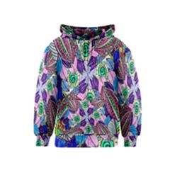 Wallpaper Created From Coloring Book Kids  Zipper Hoodie