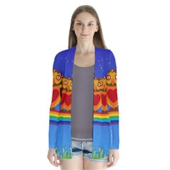 Owls Rainbow Animals Birds Nature Cardigans