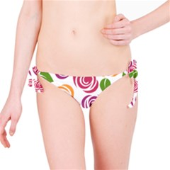 Colorful Seamless Floral Flowers Pattern Wallpaper Background Bikini Bottom