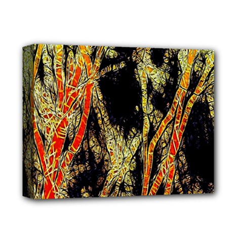Artistic Effect Fractal Forest Background Deluxe Canvas 14  X 11