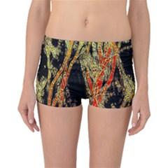 Artistic Effect Fractal Forest Background Boyleg Bikini Bottoms
