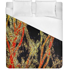 Artistic Effect Fractal Forest Background Duvet Cover (california King Size)