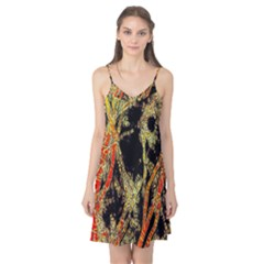 Artistic Effect Fractal Forest Background Camis Nightgown