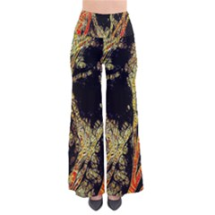 Artistic Effect Fractal Forest Background Pants