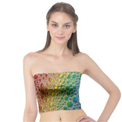 Bubbles Rainbow Colourful Colors Tube Top