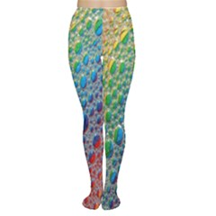 Bubbles Rainbow Colourful Colors Women s Tights