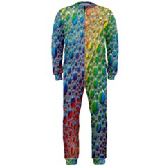 Bubbles Rainbow Colourful Colors Onepiece Jumpsuit (men)