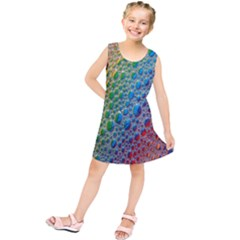 Bubbles Rainbow Colourful Colors Kids  Tunic Dress