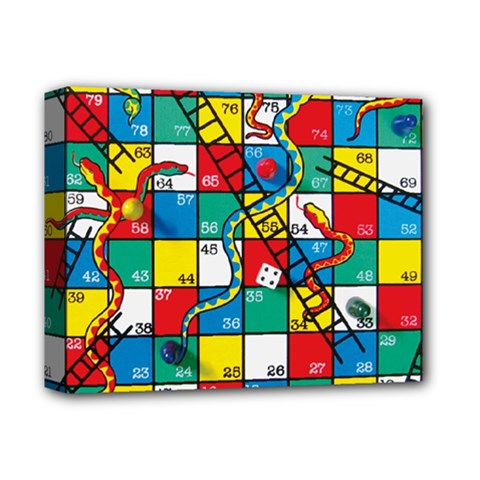 Snakes And Ladders Deluxe Canvas 14  X 11