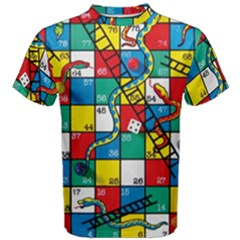 Snakes And Ladders Men s Cotton Tee
