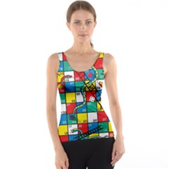 Snakes And Ladders Tank Top