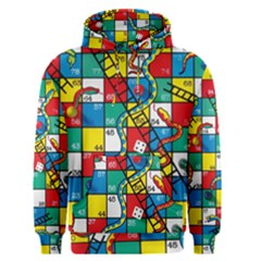 Snakes And Ladders Men s Pullover Hoodie