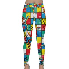 Snakes And Ladders Classic Yoga Leggings