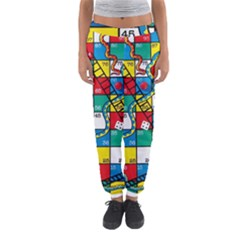 Snakes And Ladders Women s Jogger Sweatpants