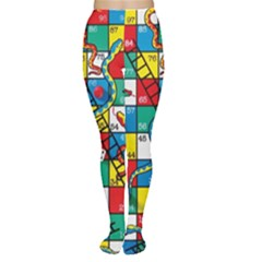 Snakes And Ladders Women s Tights