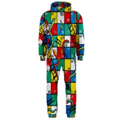 Snakes And Ladders Hooded Jumpsuit (men)