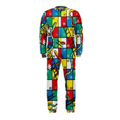 Snakes And Ladders Onepiece Jumpsuit (kids)