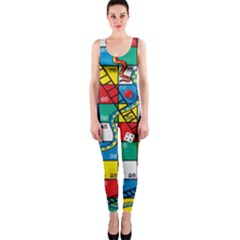 Snakes And Ladders OnePiece Catsuit