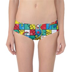 Snakes And Ladders Classic Bikini Bottoms