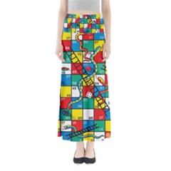 Snakes And Ladders Maxi Skirts