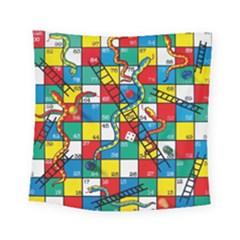 Snakes And Ladders Square Tapestry (small)