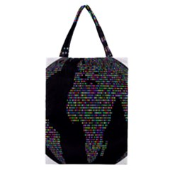 World Earth Planet Globe Map Classic Tote Bag