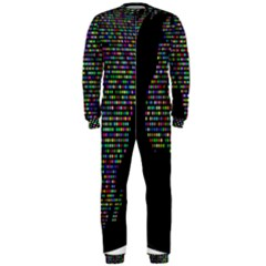 World Earth Planet Globe Map Onepiece Jumpsuit (men)