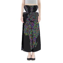 World Earth Planet Globe Map Maxi Skirts