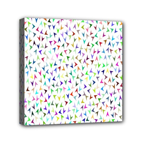 Pointer Direction Arrows Navigation Mini Canvas 6  X 6
