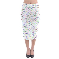 Pointer Direction Arrows Navigation Midi Pencil Skirt
