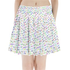 Pointer Direction Arrows Navigation Pleated Mini Skirt