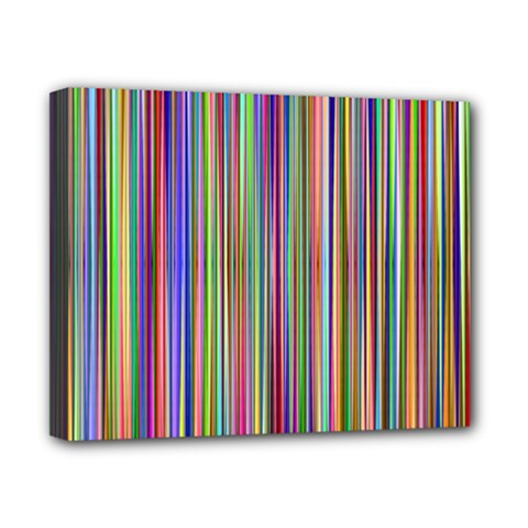 Striped Stripes Abstract Geometric Canvas 10  X 8