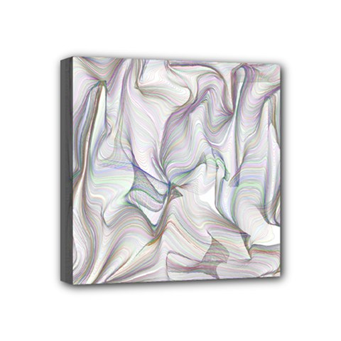 Abstract Background Chromatic Mini Canvas 4  X 4
