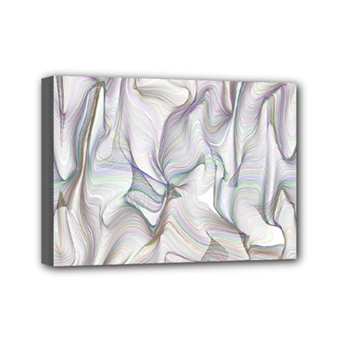 Abstract Background Chromatic Mini Canvas 7  X 5