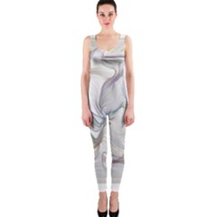 Abstract Background Chromatic OnePiece Catsuit