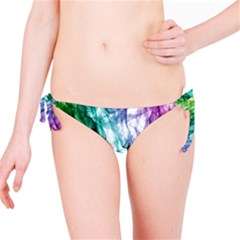 Colour Smoke Rainbow Color Design Bikini Bottom