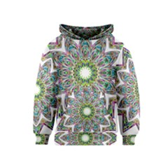 Decorative Ornamental Design Kids  Pullover Hoodie