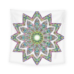 Decorative Ornamental Design Square Tapestry (small)