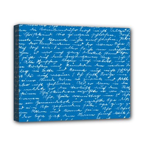 Handwriting Canvas 10  x 8