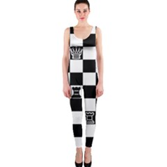 Chess OnePiece Catsuit