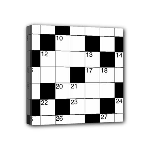 Crosswords  Mini Canvas 4  x 4